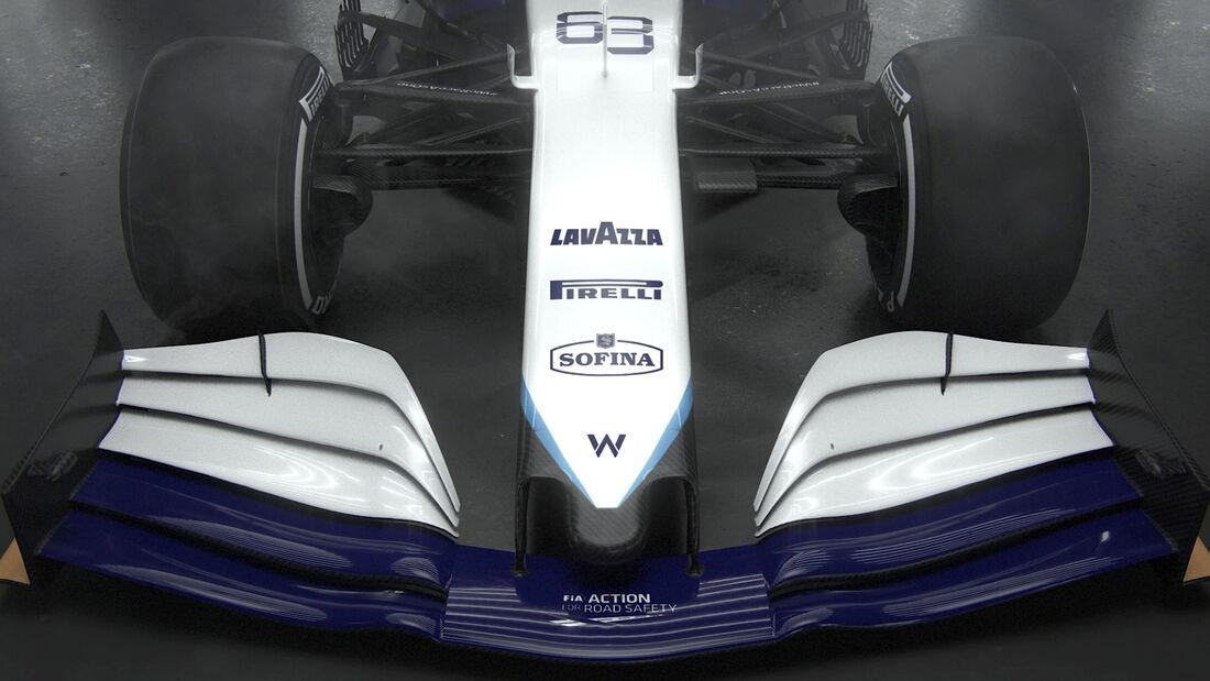Williams FW43B - Neue Lackierung - Formel 1 - 2021