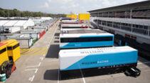 Williams - Fahrerlager - Formel 1 - GP Spanien - Barcelona - Donnerstag - 13. August 2020