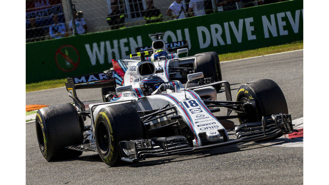 Williams - Formcheck - GP Italien 2017