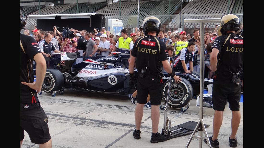 Williams - Formel 1 - Budapest - GP Ungarn - 26. Juli 2012