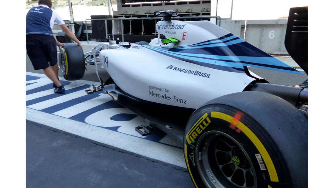 Williams - Formel 1 - GP Abu Dhabi - 22. November 2014