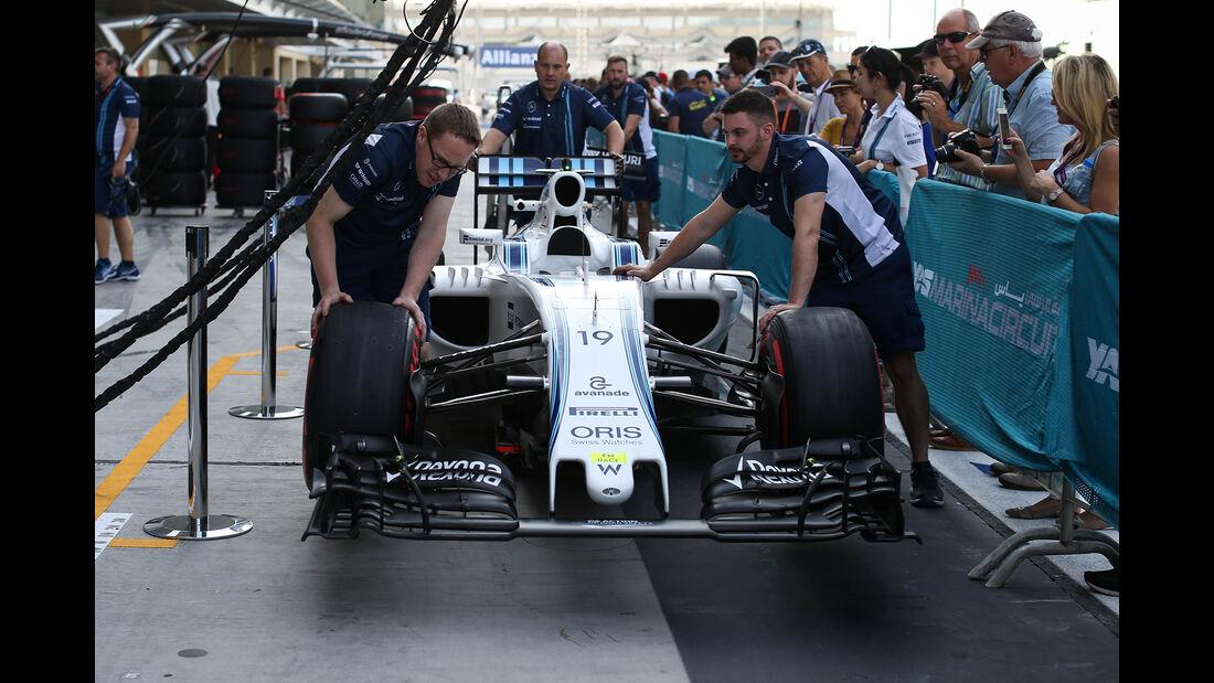 Williams - Formel 1 - GP Abu Dhabi - 24. November 2016