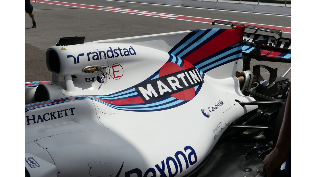 Williams - Formel 1 - GP Aserbaidschan 2017 - Baku - Donnerstag - 22.6.2017