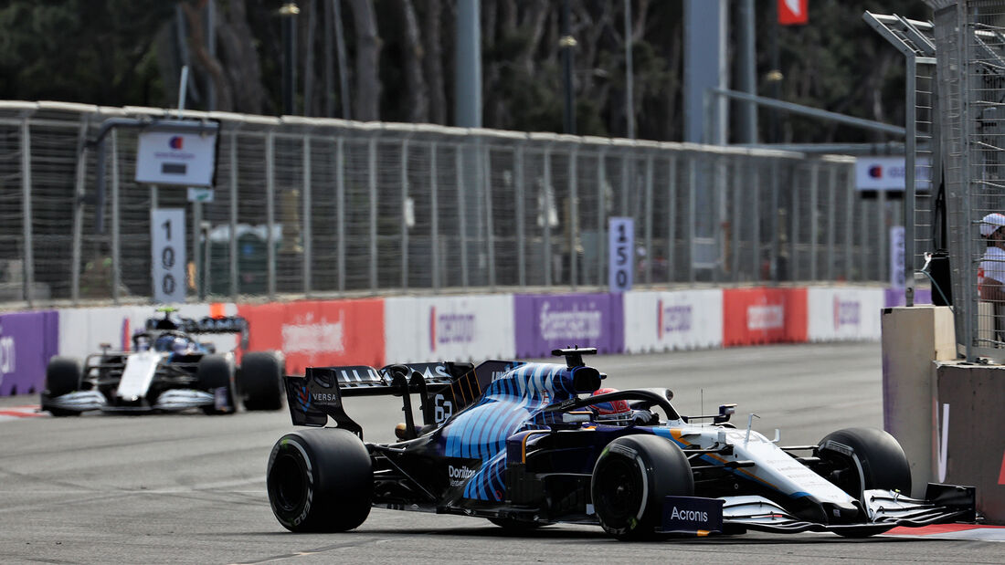 Williams - Formel 1 - GP Aserbaidschan 2021