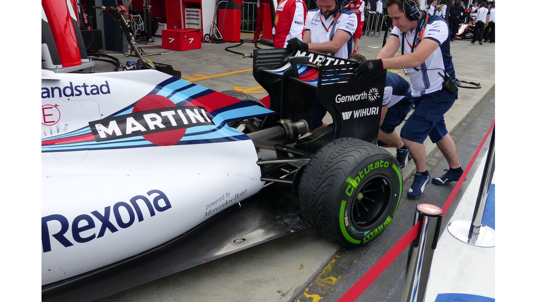 Williams - Formel 1 - GP Australien - 13. März 2015