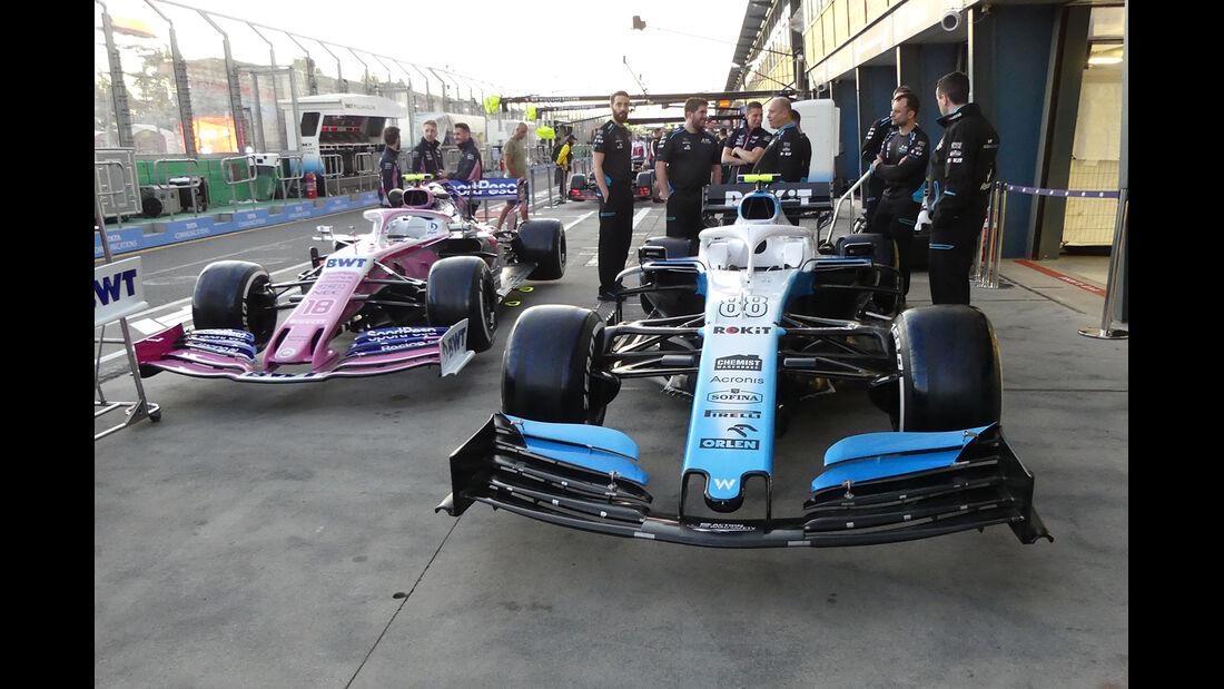 Williams - Formel 1 - GP Australien - 14. März 2019