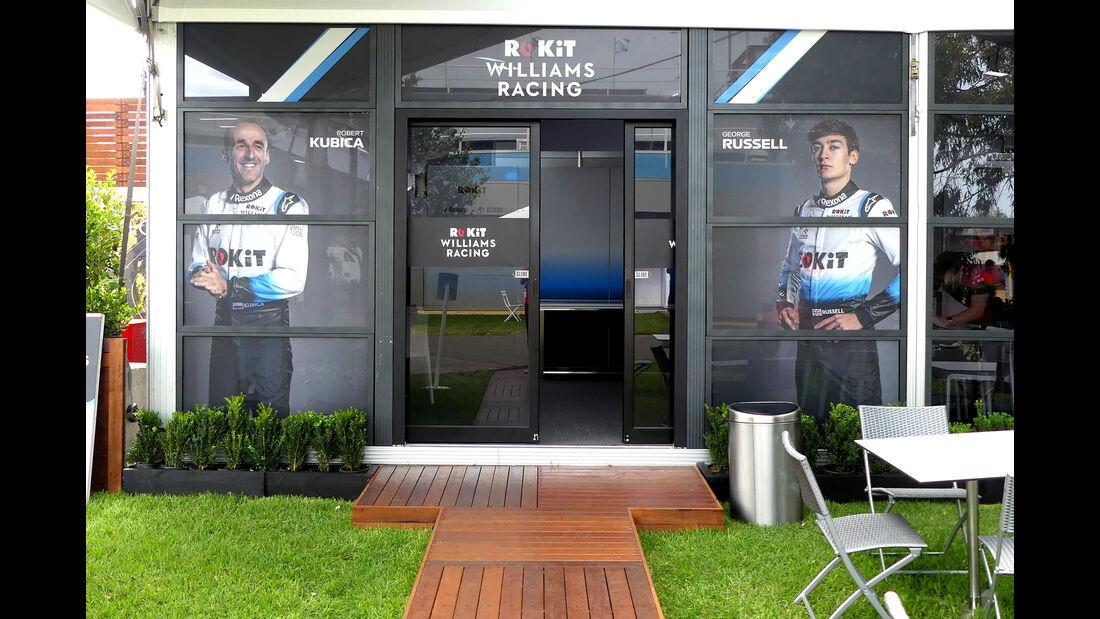 Williams - Formel 1 - GP Australien - Melbourne - 13. März 2019