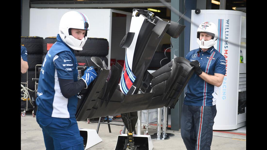Williams - Formel 1 - GP Australien - Melbourne - 19. März 2016