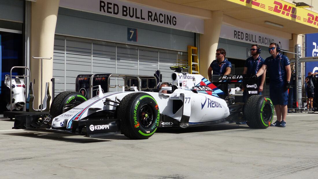Williams - Formel 1 - GP Bahrain - 16. April 2015