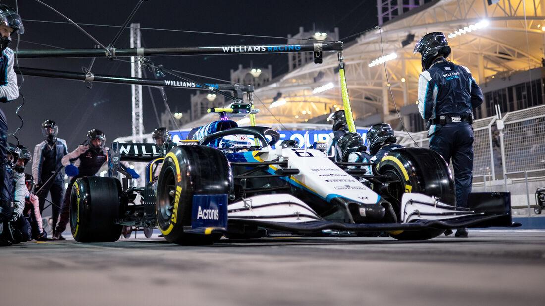 Williams - Formel 1 - GP Bahrain 2021