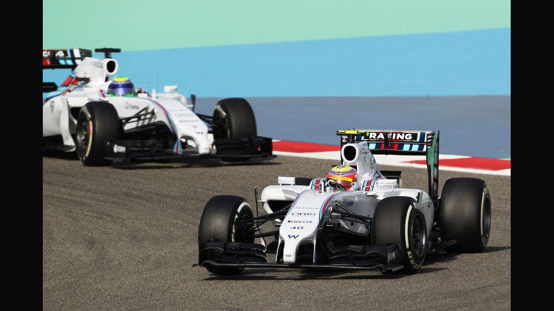 Williams - Formel 1 - GP Bahrain - Sakhir - 4. April 2014