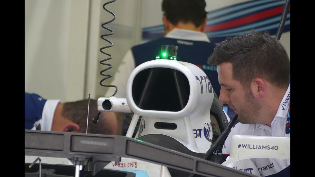 Williams - Formel 1 - GP Bahrain -Sakhir - Donnerstag - 13.4.2017