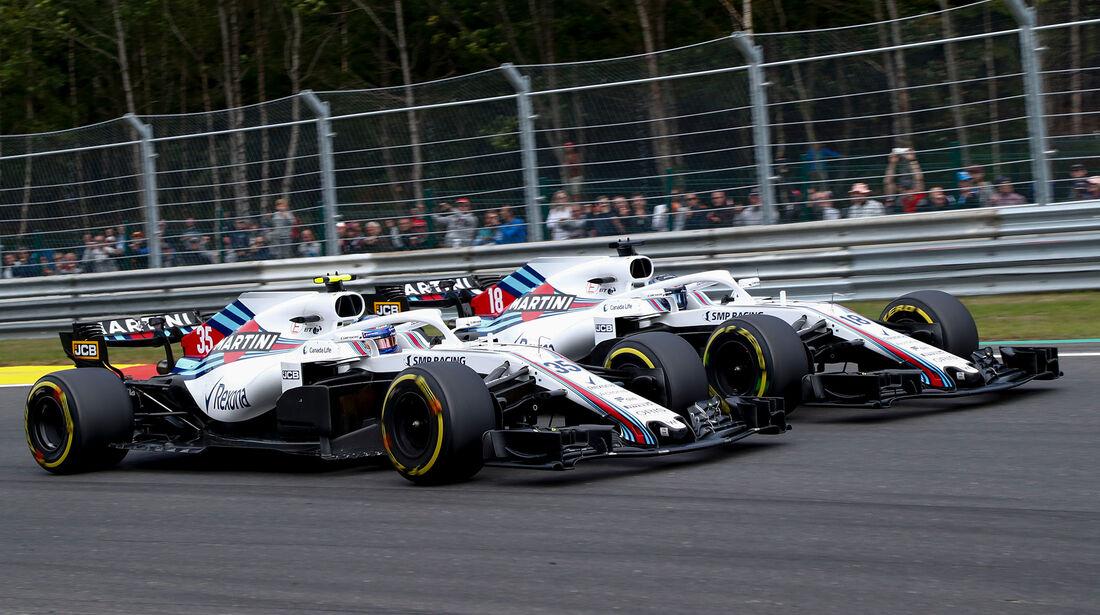 Williams - Formel 1 - GP Belgien 2018