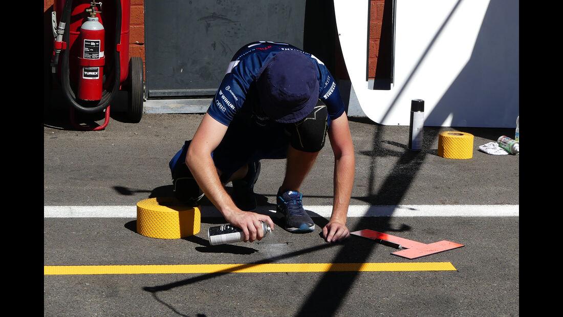 Williams - Formel 1 - GP Belgien - 24. August 2016