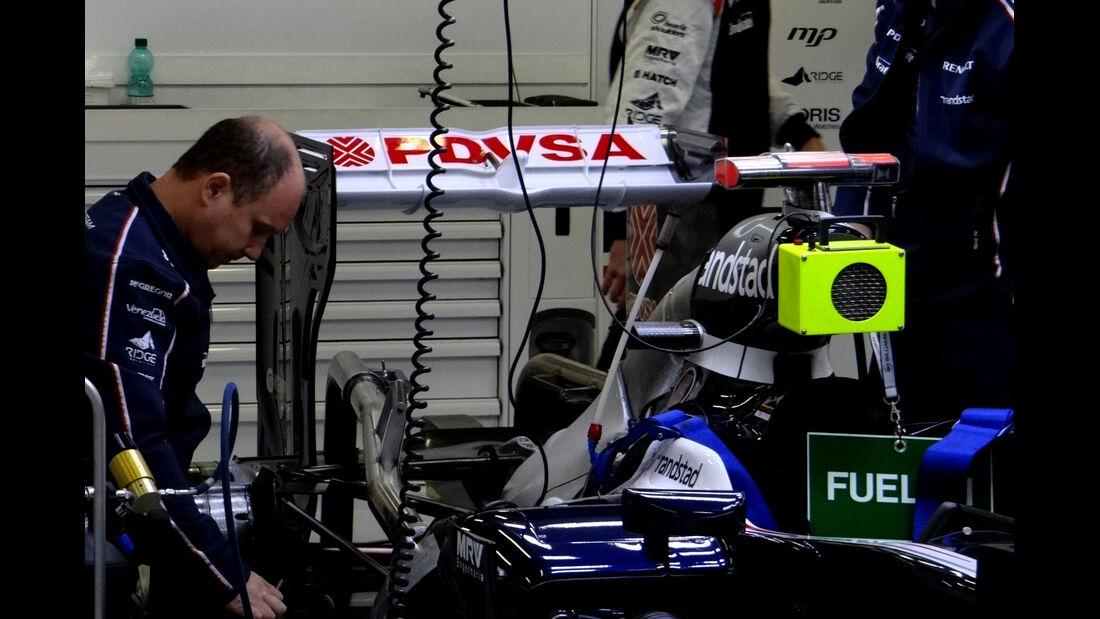 Williams - Formel 1 - GP Belgien - Spa - 30.8.2012