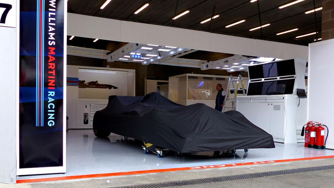 Williams - Formel 1 - GP Belgien - Spa-Francorchamps - 19. August 2015