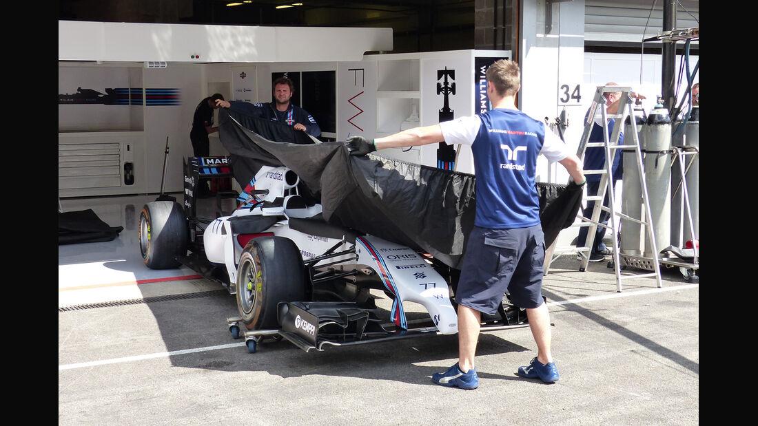 Williams - Formel 1 - GP Belgien - Spa-Francorchamps - 20. August 2014