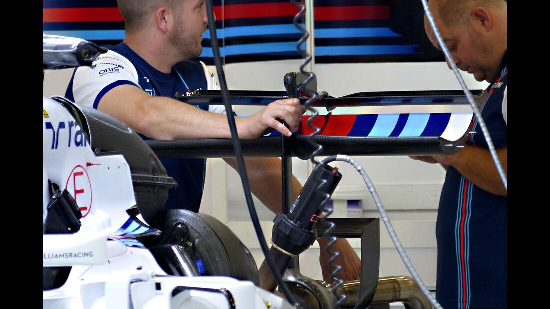 Williams - Formel 1 - GP Belgien - Spa-Francorchamps - 20. August 2015