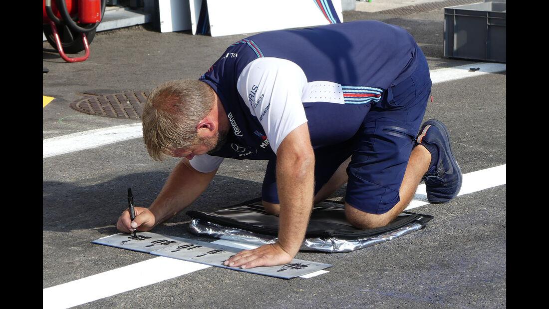 Williams - Formel 1 - GP Belgien - Spa-Francorchamps - 22. August 2018