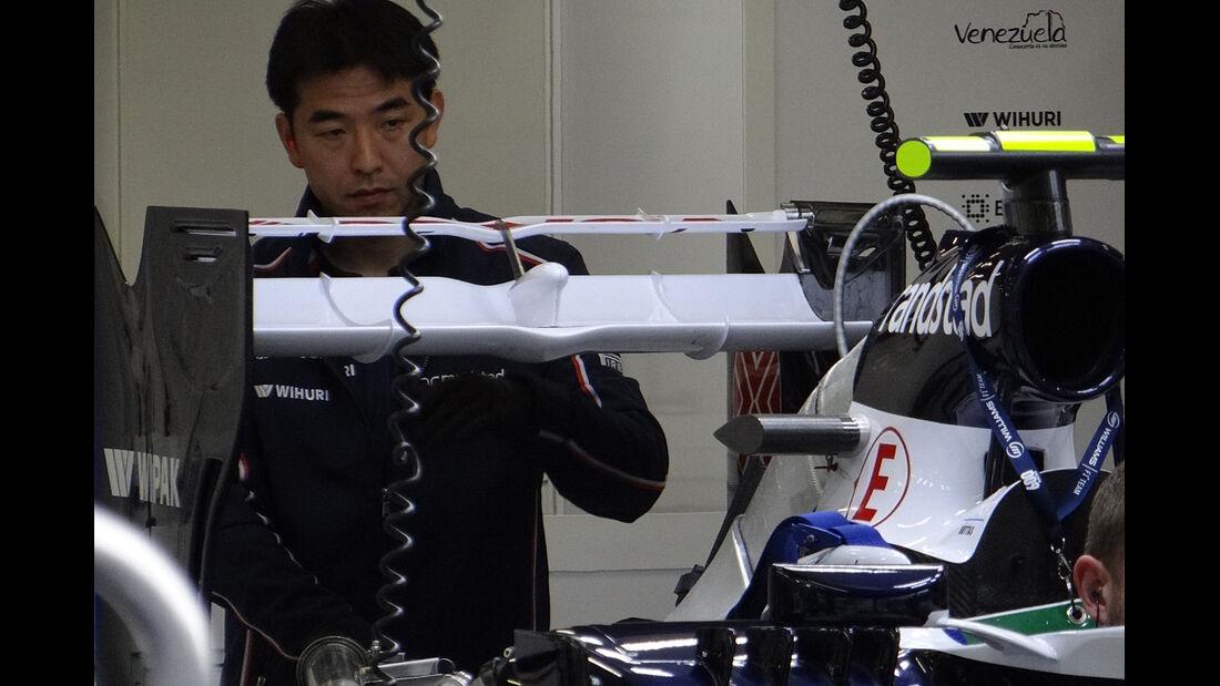 Williams - Formel 1 - GP Belgien - Spa Francorchamps - 23. August 2013