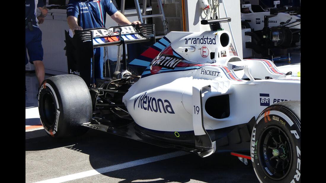 Williams - Formel 1 - GP Belgien - Spa-Francorchamps - 25. August 2016