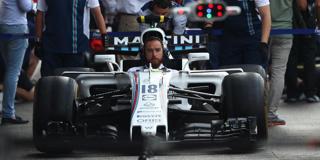 Williams - Formel 1 - GP Belgien - Spa-Francorchamps - 26. August 2017