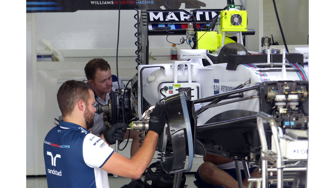 Williams - Formel 1 - GP Brasilien- 13. November 2015