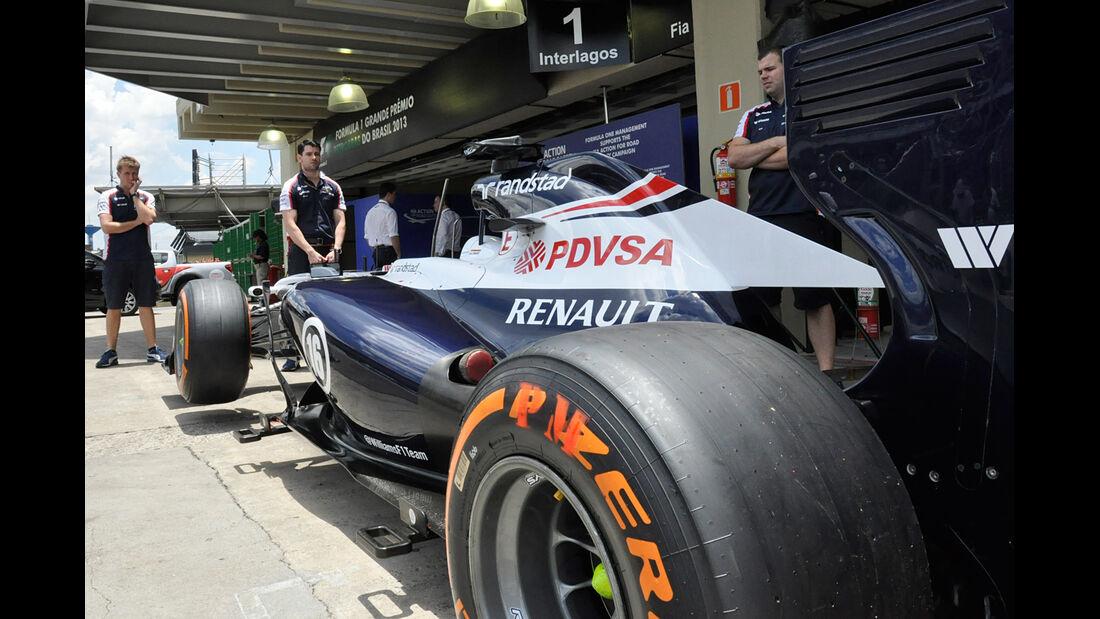 Williams - Formel 1 - GP Brasilien - 21. November 2013