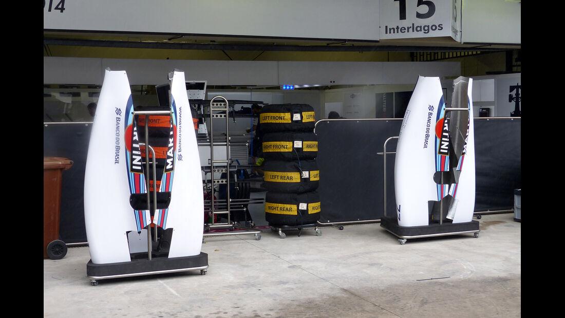 Williams - Formel 1 - GP Brasilien -5. November 2014