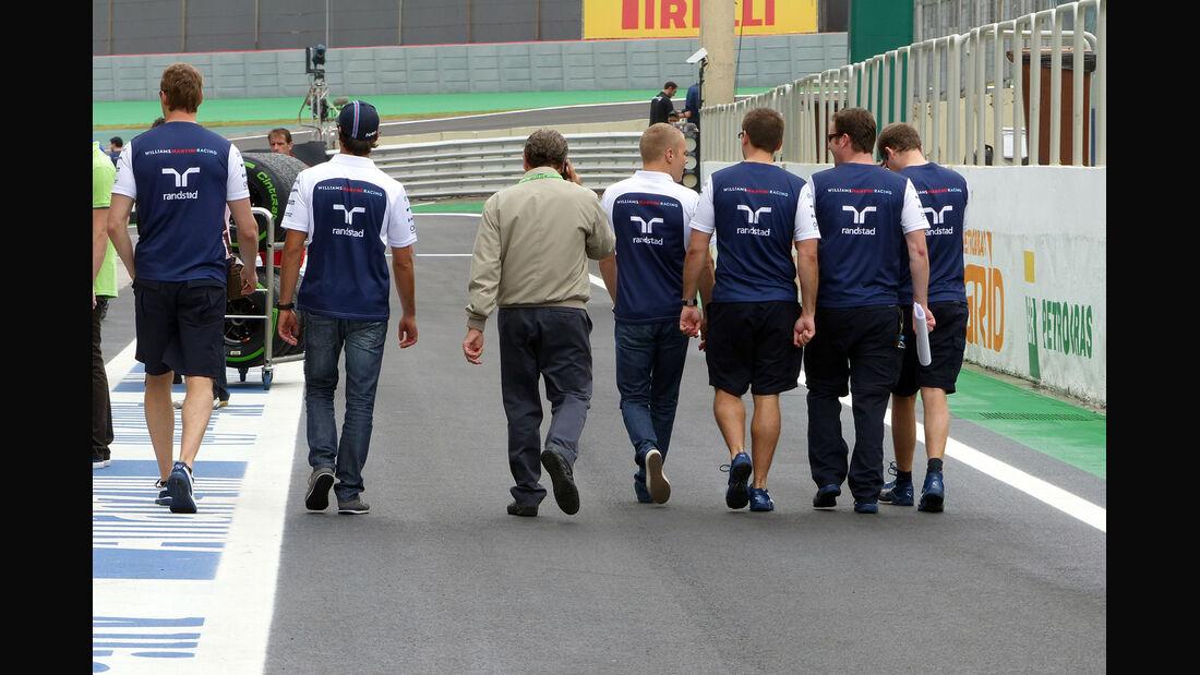Williams  - Formel 1 - GP Brasilien - 6. November 2014