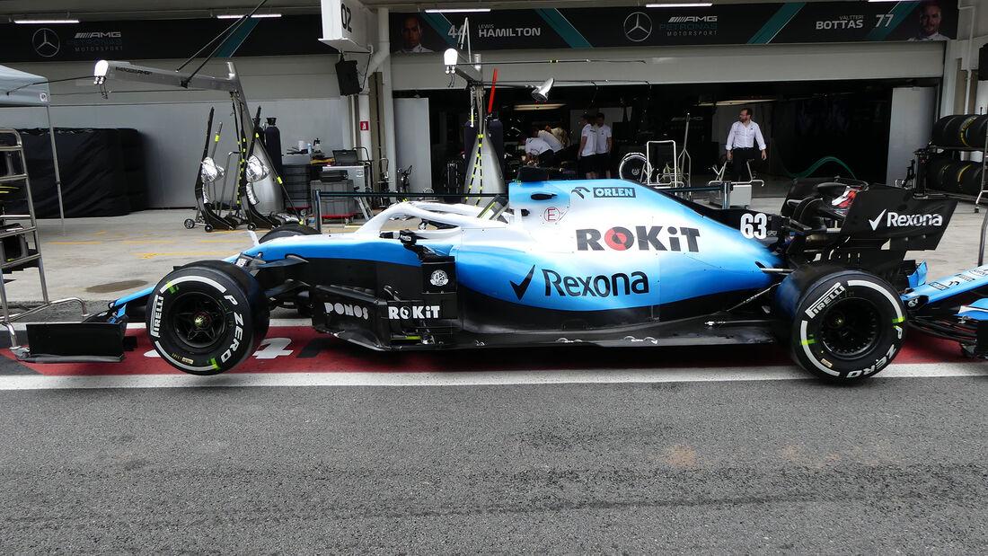Williams - Formel 1 - GP Brasilien - Sao Paulo - 14. November 2019