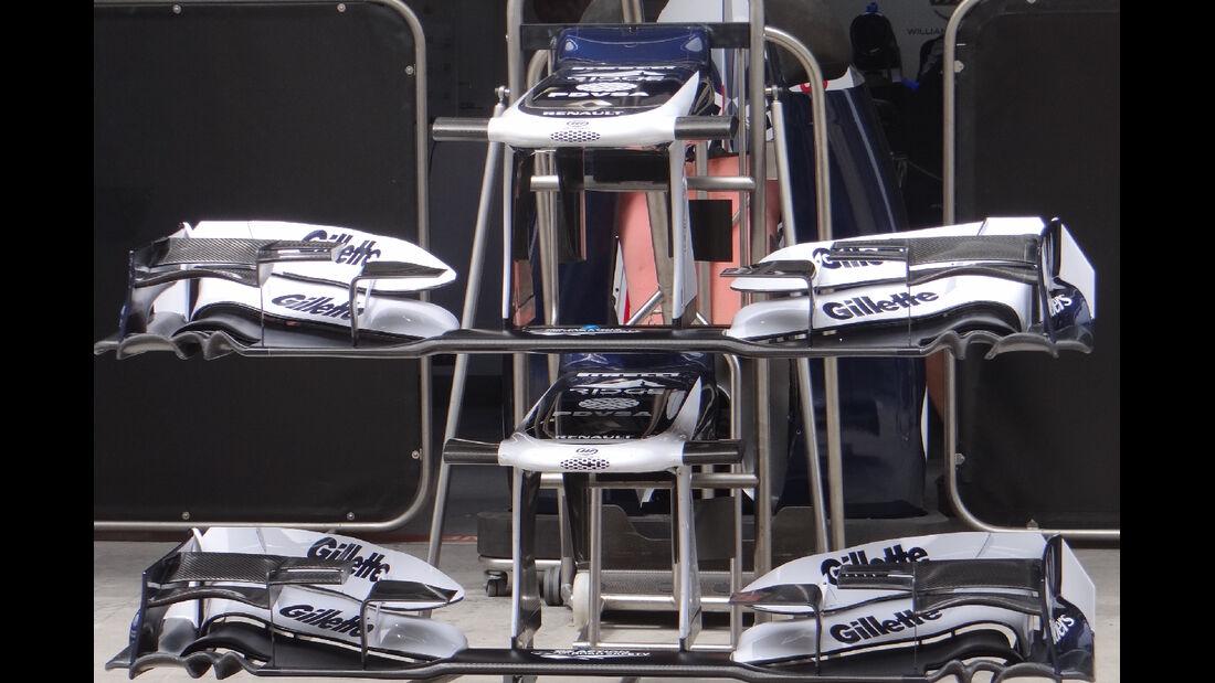 Williams - Formel 1 - GP China - 11. April 2012