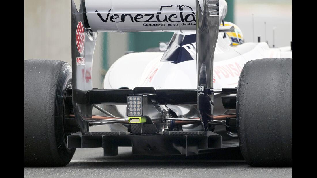 Williams - Formel 1 - GP China - 13. April 2012