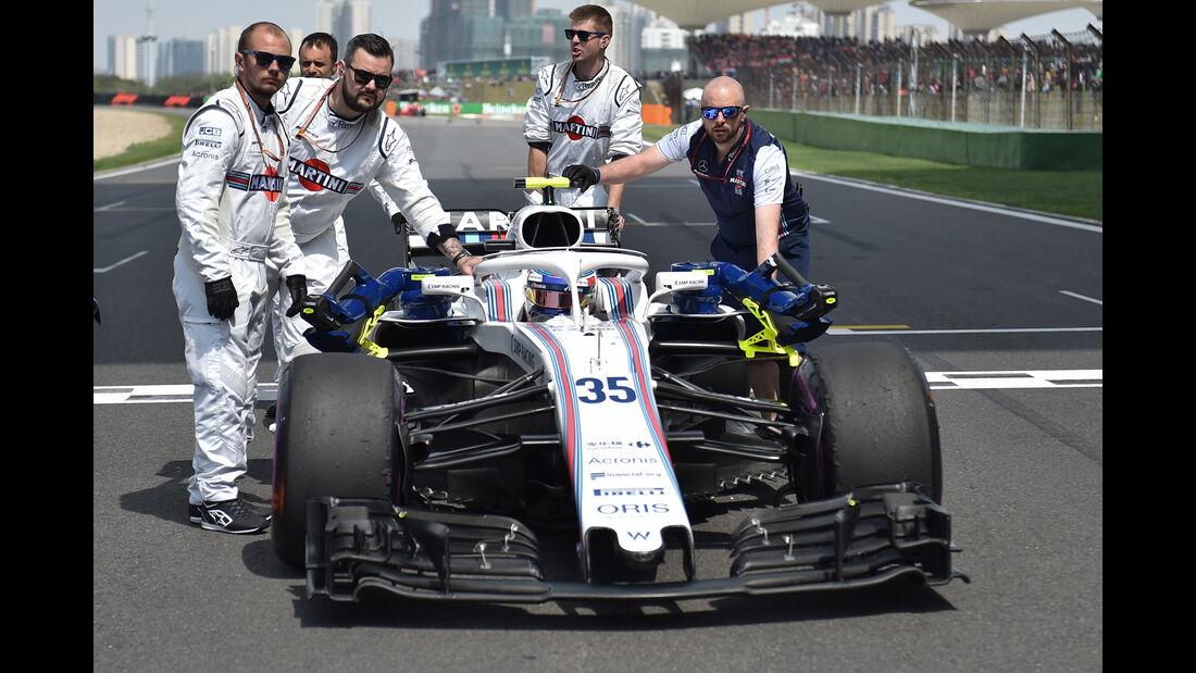 Williams - Formel 1 - GP China 2018