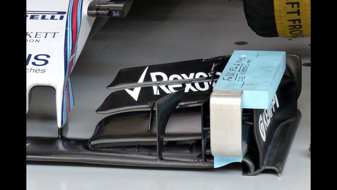Williams - Formel 1 - GP China - Shanghai - 10. April 2015