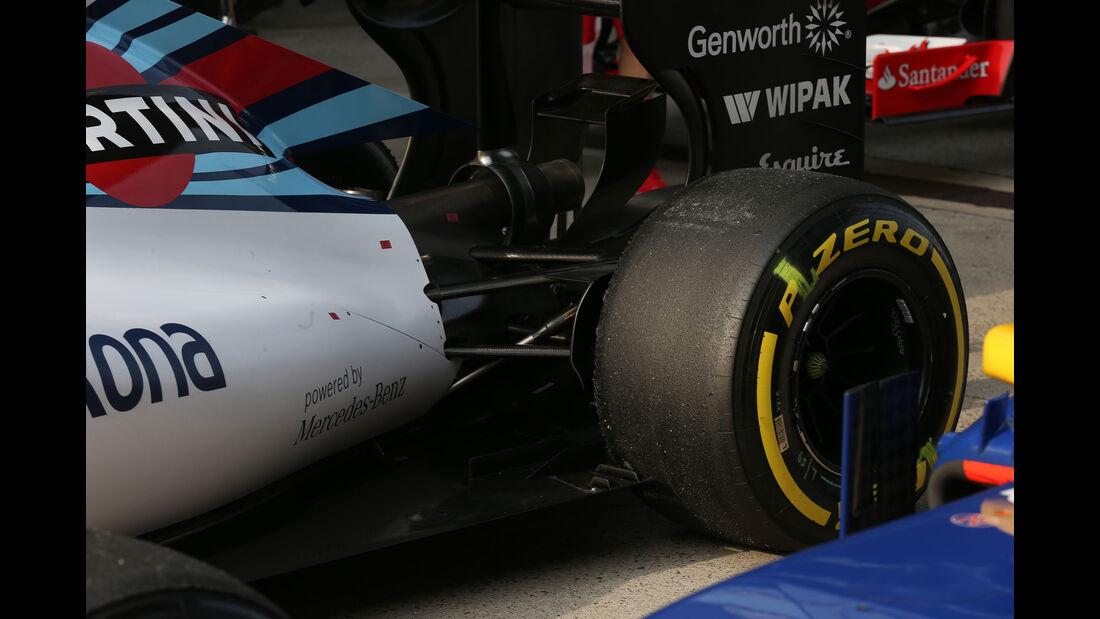 Williams - Formel 1 - GP China - Shanghai - 11. April 2015
