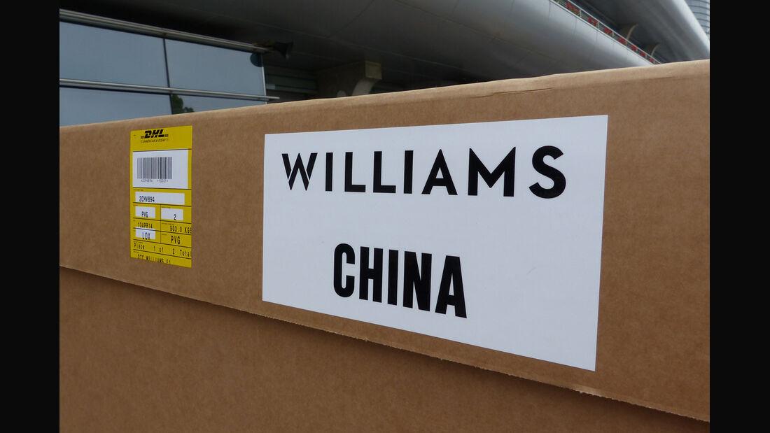 Williams - Formel 1 - GP China - Shanghai - 16. April 2014