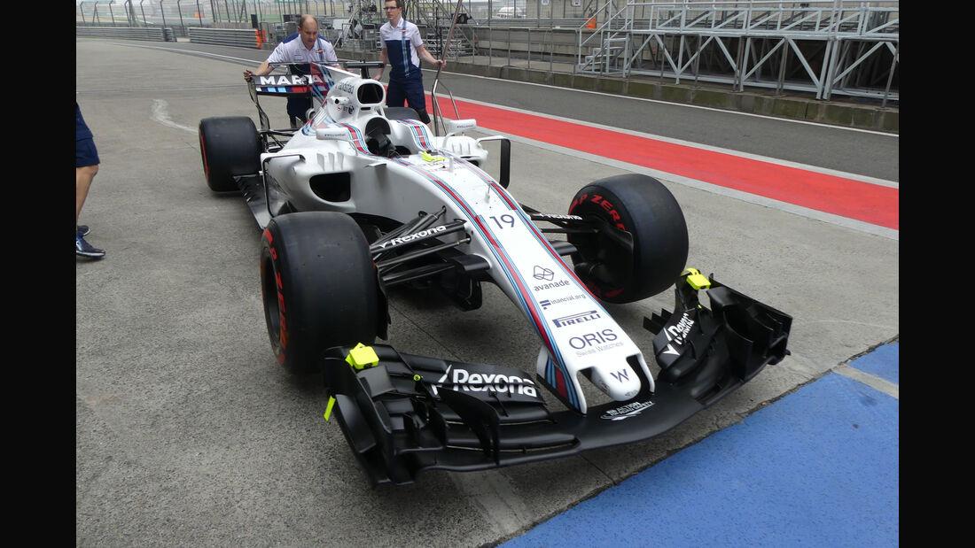Williams - Formel 1 - GP China - Shanghai - 6.4.2017