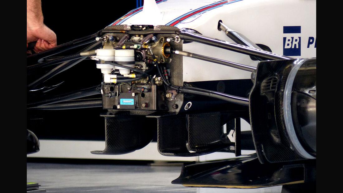 Williams - Formel 1 - GP China - Shanghai - 9. April 2015