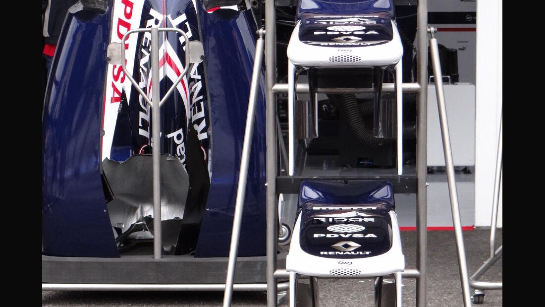 Williams - Formel 1 - GP Deutschland - 19. Juli 2012