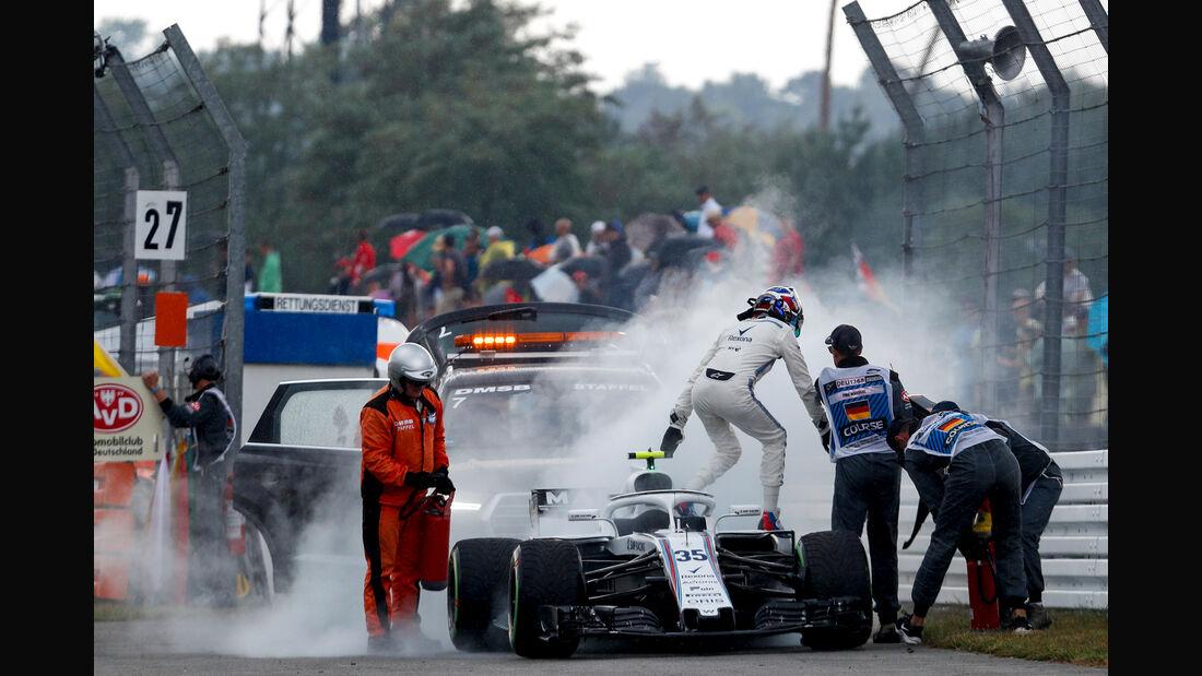 Williams - Formel 1 -GP Deutschland 2018