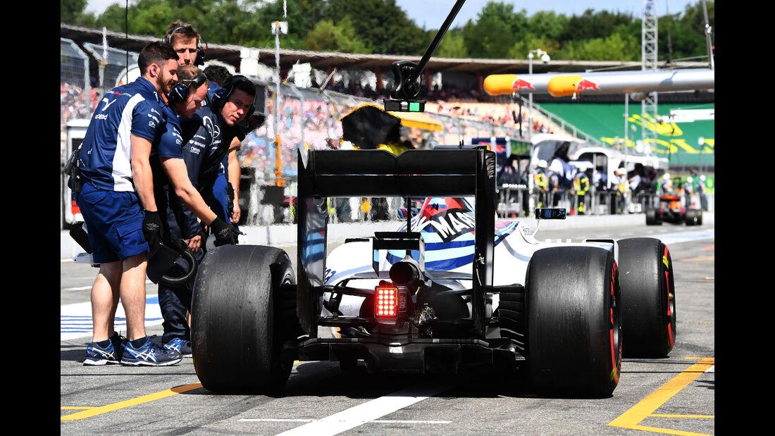 Williams  - Formel 1 - GP Deutschland - 30. Juli 2016