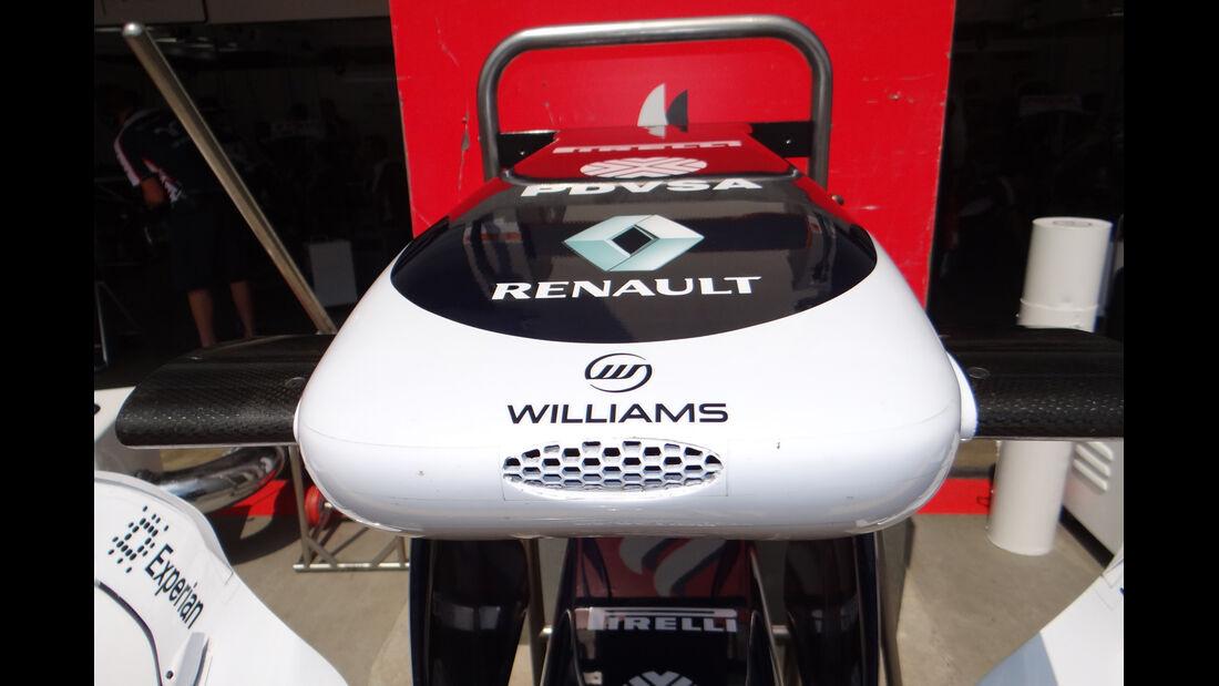 Williams - Formel 1 - GP Deutschland - 6. Juli 2013
