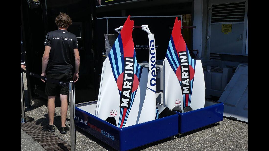 Williams - Formel 1 - GP Deutschland - Hockenheim - 18. Juli 2018