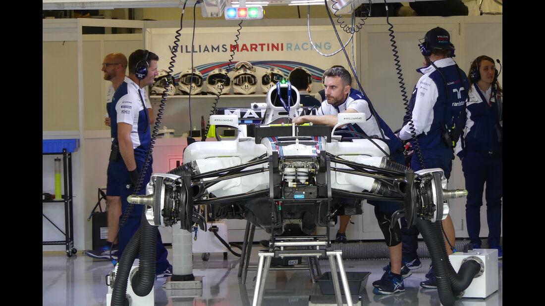 Williams - Formel 1 - GP England - 13. Juli 2017