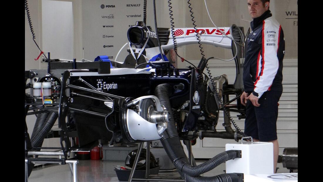 Williams - Formel 1 - GP England - 27. Juni 2013