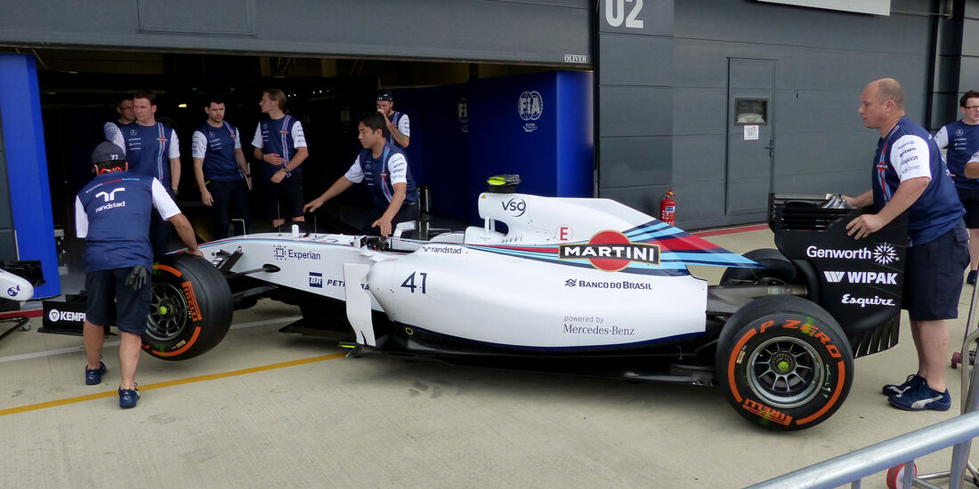 Williams - Formel 1 - GP England - Silverstone - 3. Juli 2014