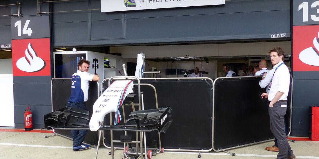 Williams - Formel 1 - GP England  - Silverstone - 4. Juli 2014