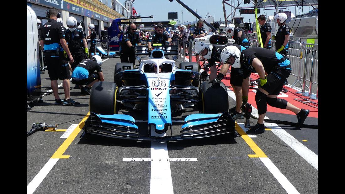 Williams - Formel 1 - GP Frankreich - Le Castellet - 20. Juni 2019