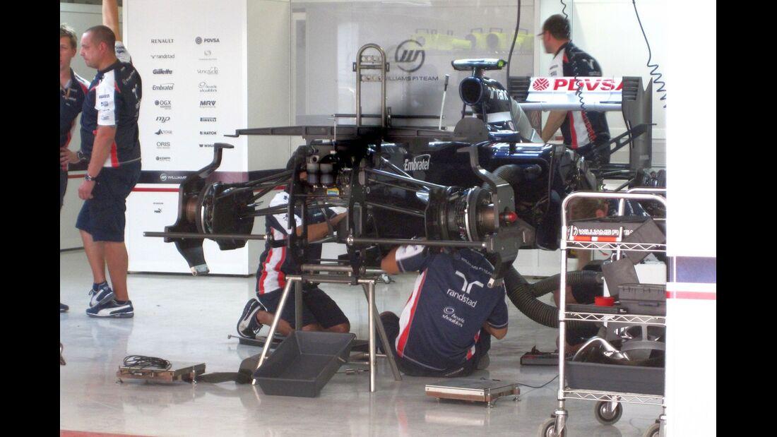 Williams  - Formel 1 - GP Indien - 25. Oktober 2012